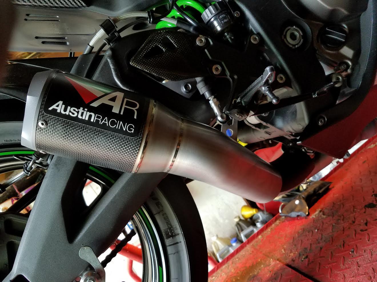 Gen 5 2016 Austin Racing Gp1r Exhaust It Is Loud Kawasaki Zx 10r Forum