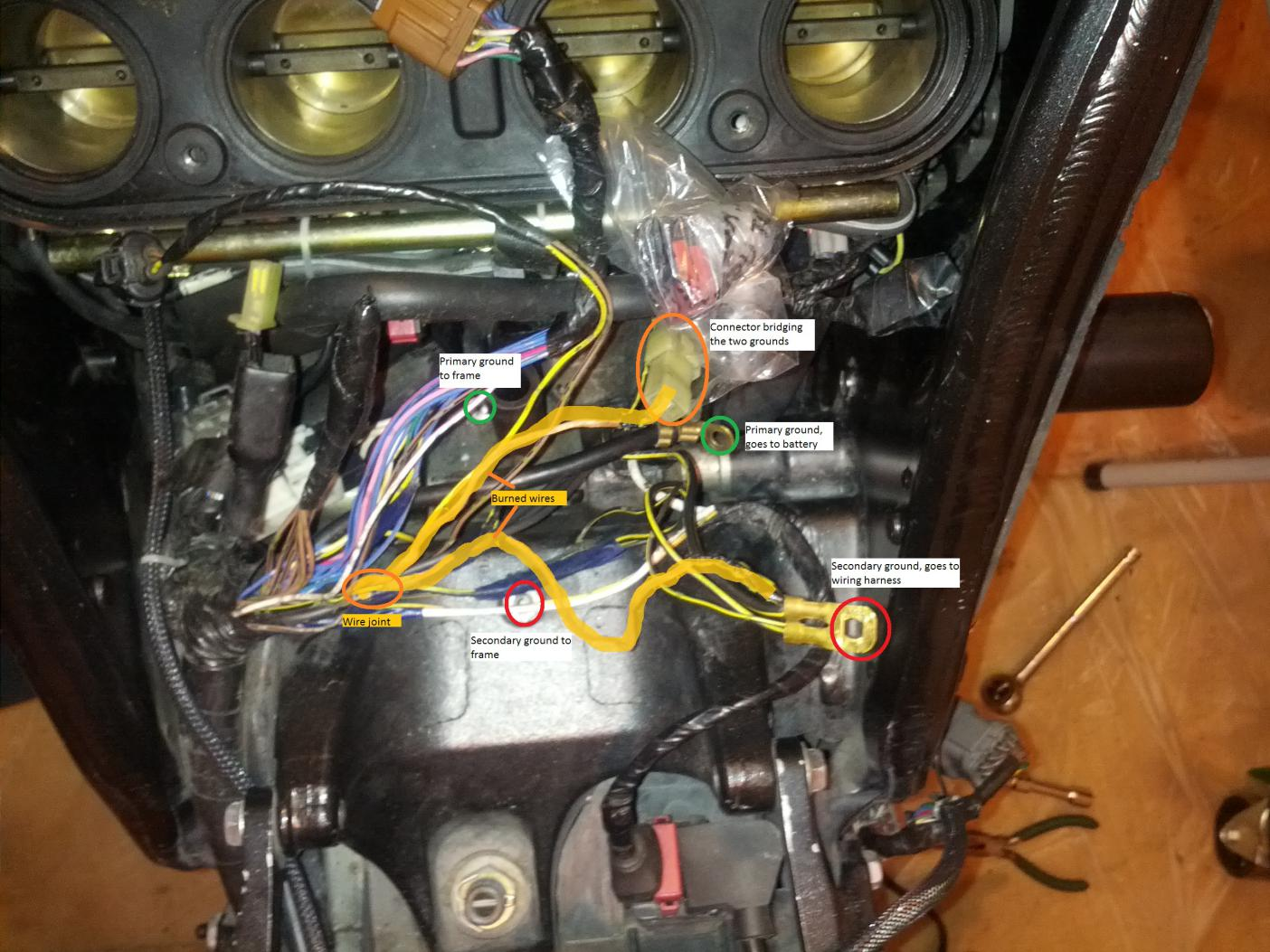 Gen 2 2006 2007 Ground Went Bad Starting Problem Finally Fixed 05 Zx6r Wiring Harness Click Image For Larger Version Name Img 20140418 213114 Edit Views 563 Size