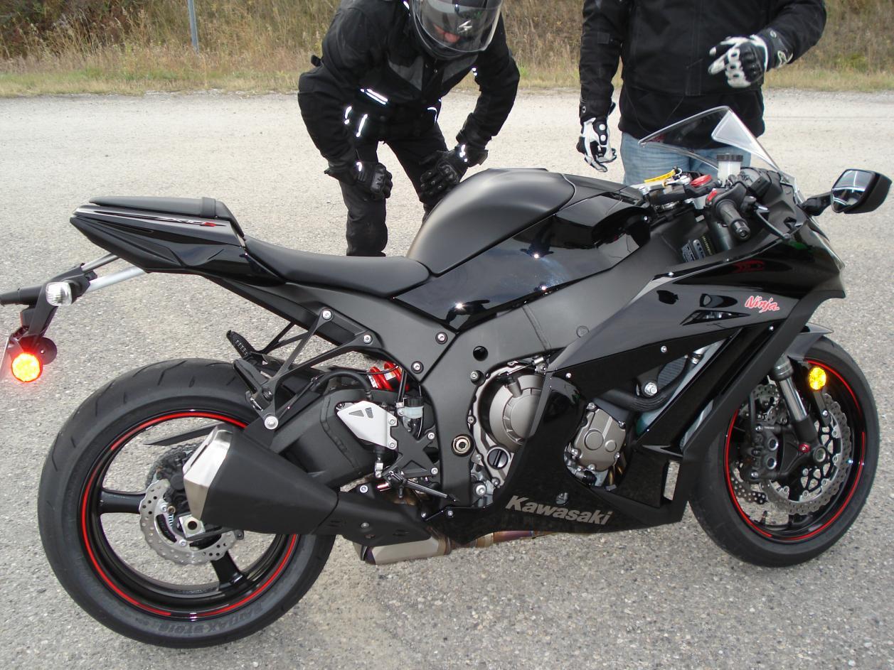 My New Black 2011 Zx10r Awsome Kawasaki Zx 10rnet