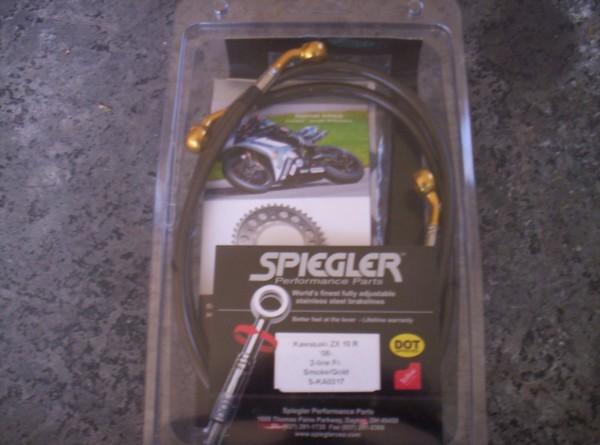 Gen 3: 2008-2010 Spiegler Brake Line Fitment - Kawasaki ZX
