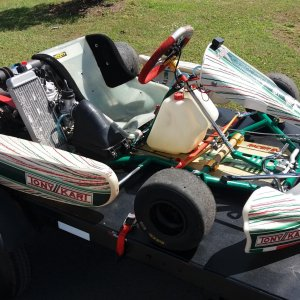 The new (to me) Tony Kart.