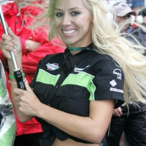 Hott Kawi Girls from the GP Circuit