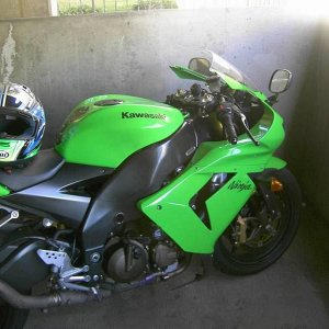 Windshield Tested By Shervinrrr On 2005 Kawasaki Zx-10r View Look