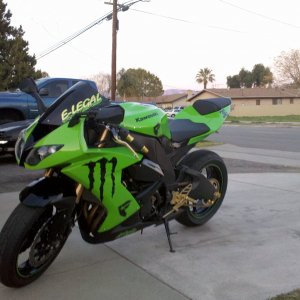Hotbodies 08 Zx10r Windshiel