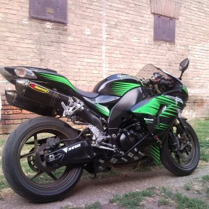 Monster G-shock Zx10r