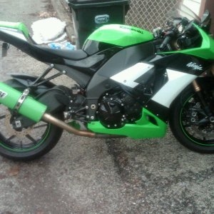 My 09 Special Edition Zx10