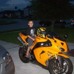My Son On My Zx10r