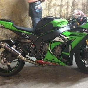 My Tom Sykes Zx10r